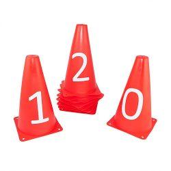 Conjunto 10 Cones Numerados (0 à 9) - UpLift