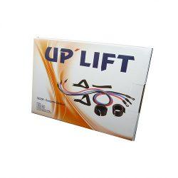 Conjunto C/ 3 Tubos Elásticos + Puxadores - UpLift